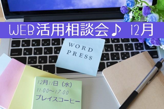 WEB活用相談会♪12月